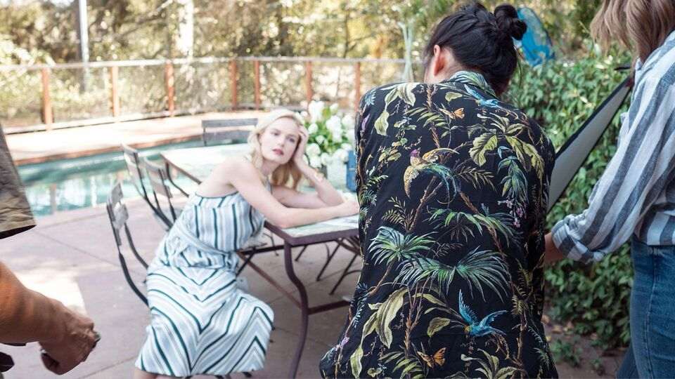Kate Bosworth Collaborates With Margaret Zhang For Tory Burch