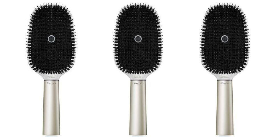 This Dhs735 Smart Hairbrush Wants To Record The Sound Of You Brushing Your Hair