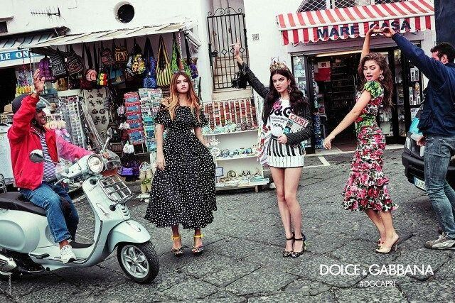 Dolce & Gabbana Tap Hollywood Millennials For Their Latest Campaign