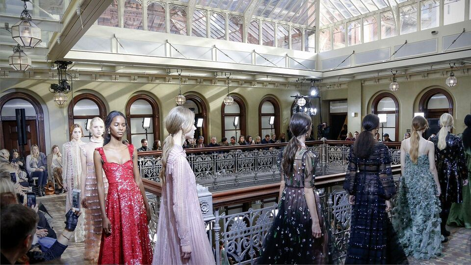 Valentino Showcases Its Pre-Fall 2017 Collection In New York City