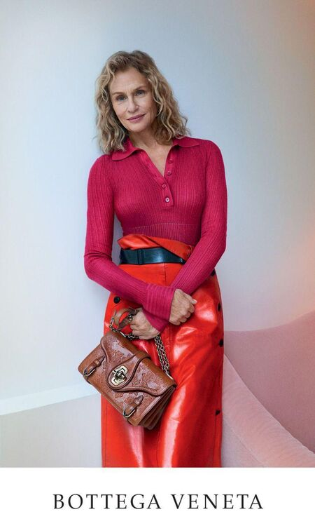 Lauren Hutton Stars In The Bottega Veneta Spring/Summer 2017 Campaign