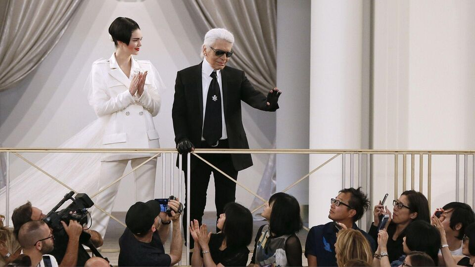 Karl Lagerfeld Reveals What It's Like To Photograph Kendall, Kim And Kanye