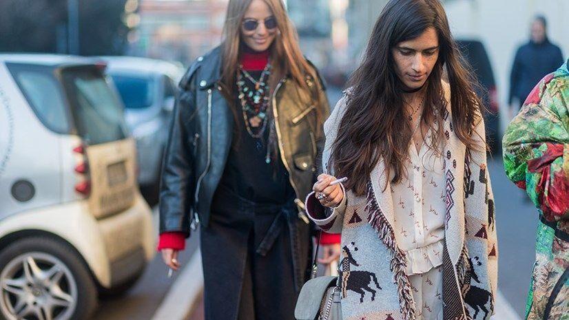 The Best-Dressed Women From Men's Fashion Week