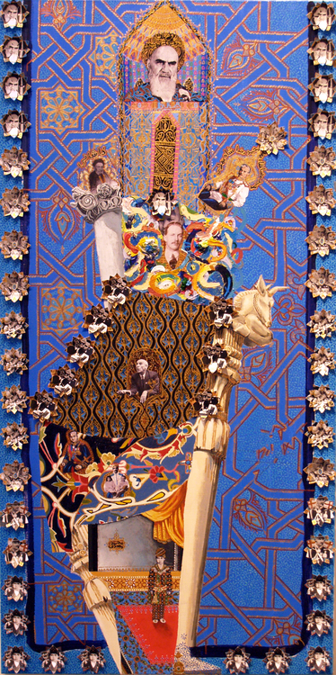 LACMA buys painting by Iranian artist Asad Faulwell