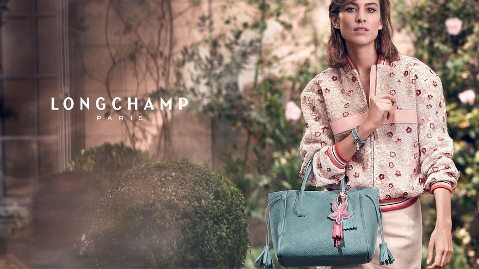 Alexa Chung Returns As The Face Of Longchamp
