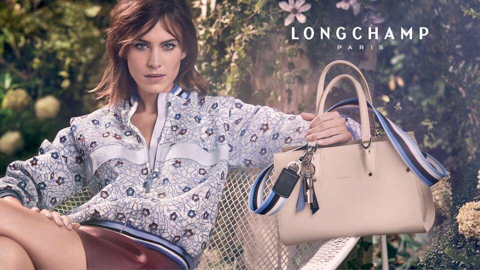 Alexa Chung Returns As The Face Of Longchamp