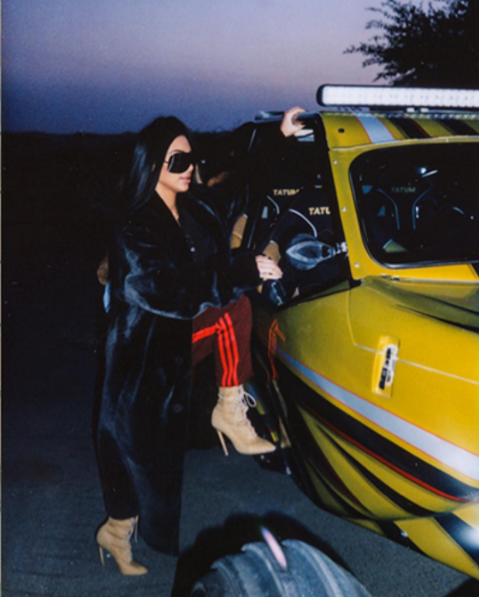 Kim Kardashian West Shares More Pictures From Her Dubai Trip