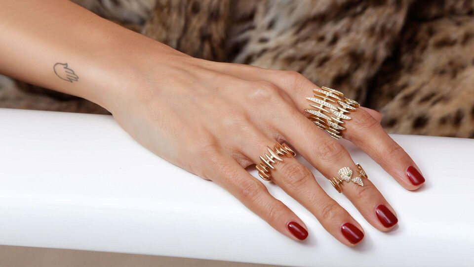 Zara Martin Fronts Kamushki's Diamonds And Pearls Collection