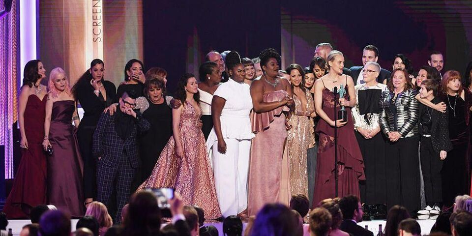 Celebrities Speak Out Against The Muslim Ban At The Sag Awards