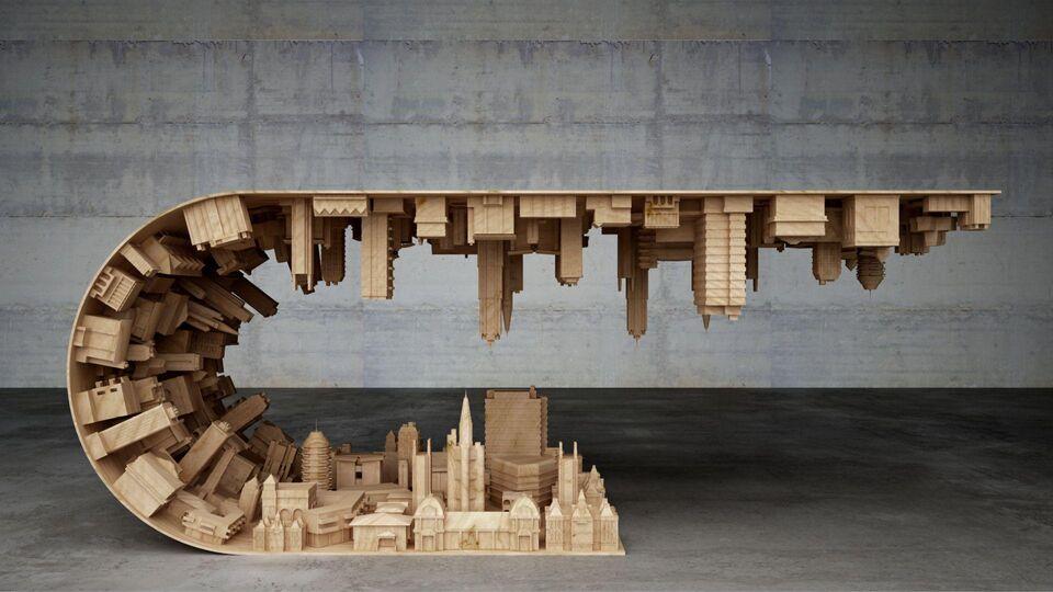 Dubai's Architecture Inspires Cities Boutique Exhibition
