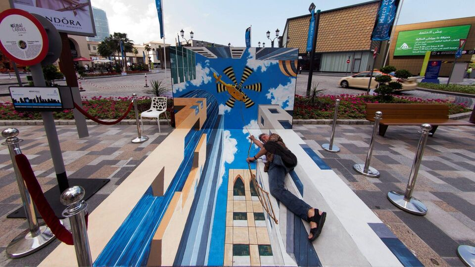International Artists Compete For Dubai Canvas 3D Award This March