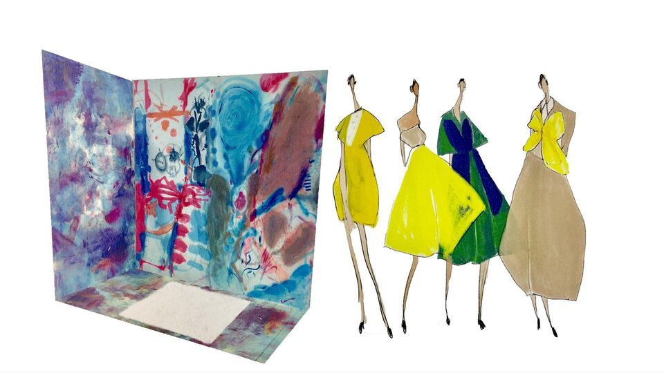 Art Meets Fashion For Boutique 1's Latest Window Installation