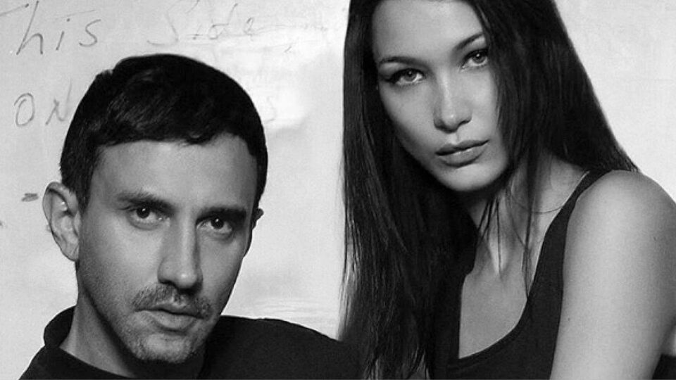 Riccardo Tisci Teams Up With Bella Hadid For Nike