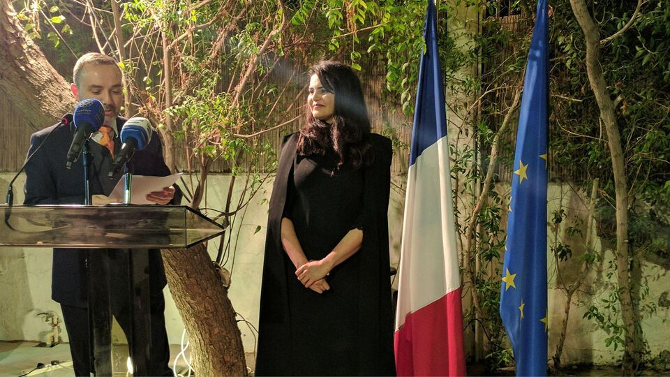 The Kuwaiti French Embassy Celebrates Dr Alanoud Alsharekh's Top Honour