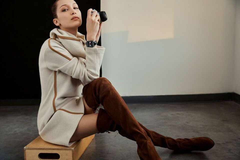 Bella Hadid Is Revealed As The New Face Of Tag Heuer