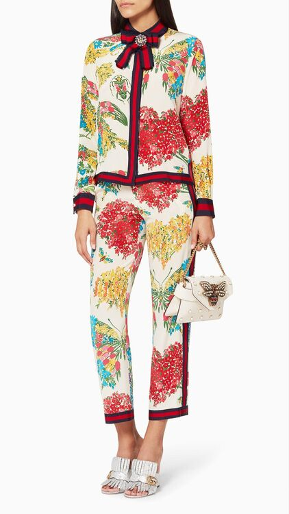 Floral Collision: Gucci Blooms At Ounass.com