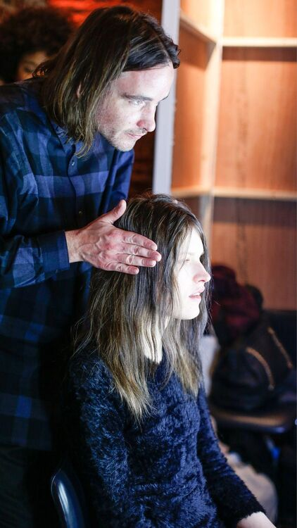 Backstage At LFW A/W17 With KeraStraight