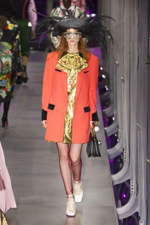 Every Single Look From The Gucci A/W17 Show