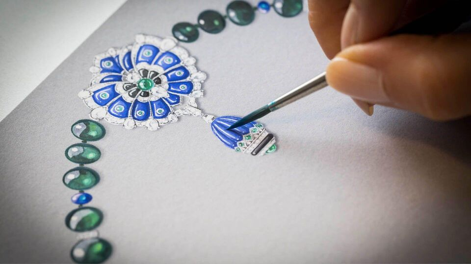 Van Cleef & Arpels at Doha's 2017 Watches and Jewellery Exhibition