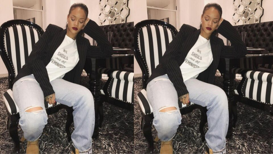 How The Dior Feminist T-Shirt Is Supporting Rihanna's Charity
