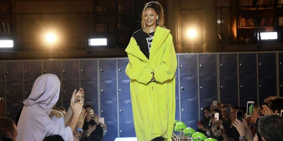 Everything That Happened At Rihanna's Fenty X Puma Fall 2017 Show