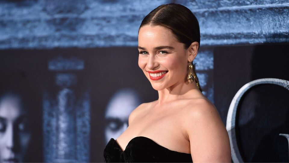 Emilia Clarke Is The New Face Of Dolce & Gabbana's The One
