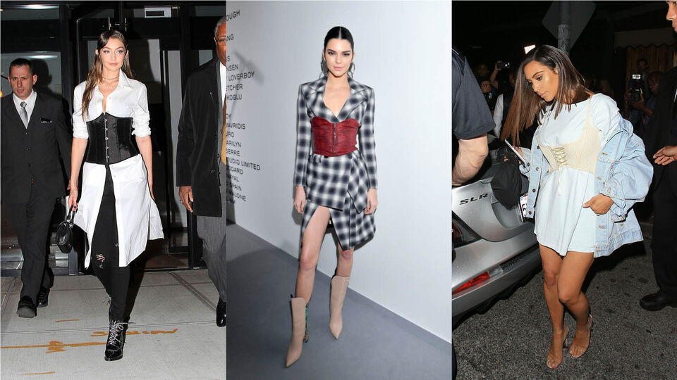 10 Ways To Wear The Corset Trend This Spring