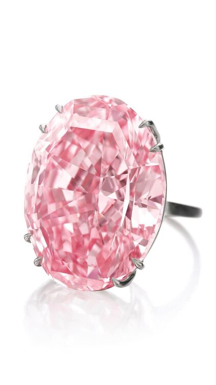 Pink Star Diamond Welcomes Visitors To Sotheby's New Dubai Gallery