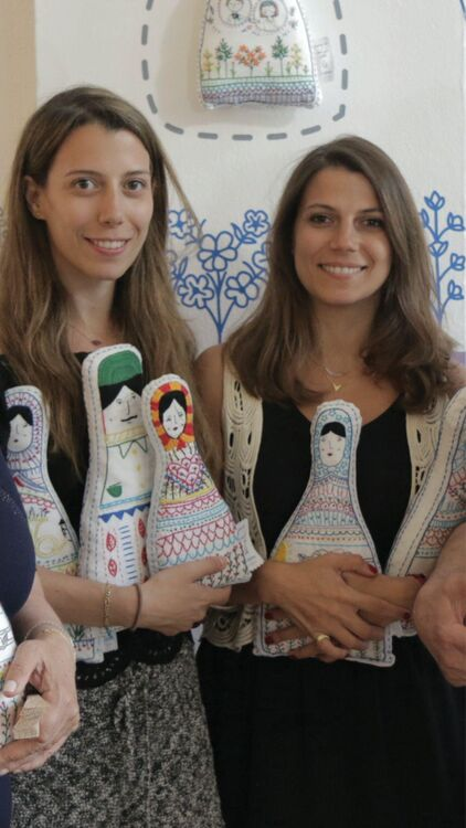 Syrian Sisters Launch Doll Collection To Aid Refugees