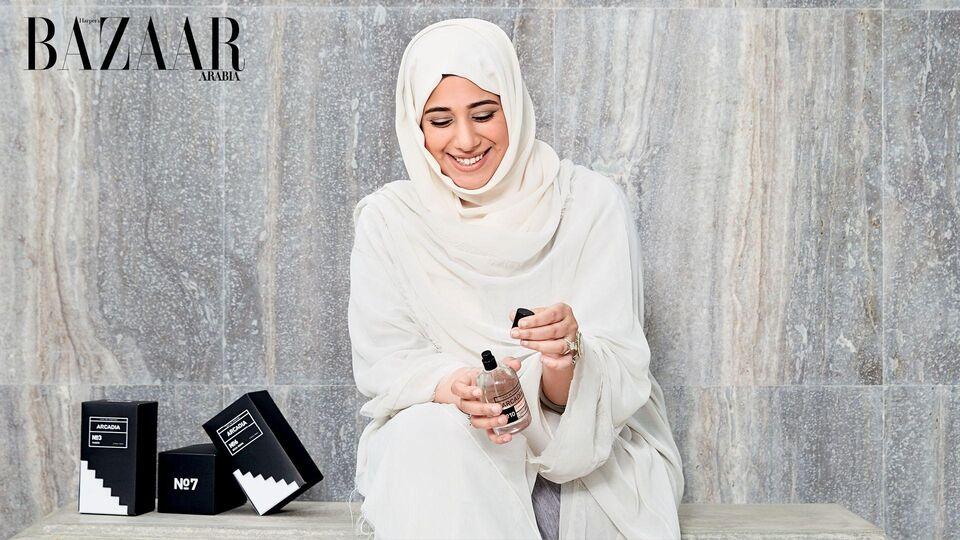 Amna Al Habtoor Launches Arcadia Perfumes