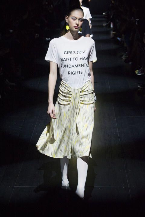 Victoria Beckham Wears Our New Favourite Slogan Tee