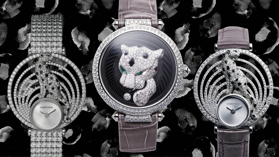 Cartier's Panther Gets Playful
