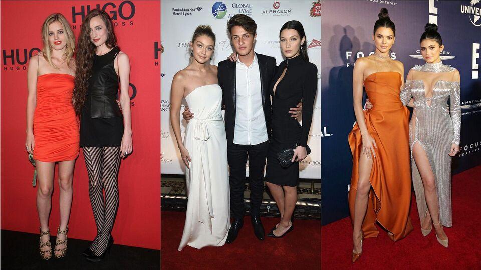 #NationalSiblingDay: 10 Fashionable Families