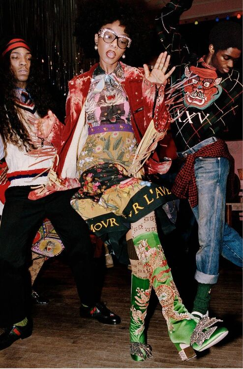 Soul Scene: See Every Look From Gucci's Pre-Fall 2017 Campaign