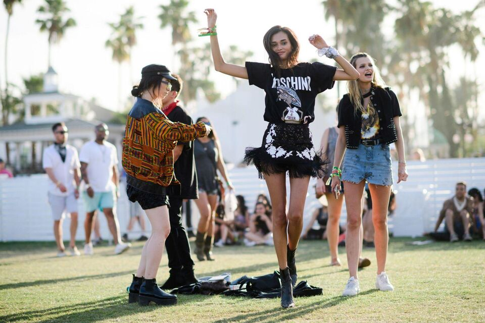 The Best Street Style From Coachella 2017