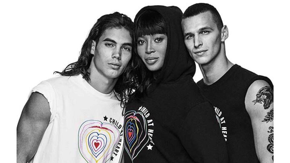 Naomi Campbell Teams Up With Diesel Her Child At Heart Foundation