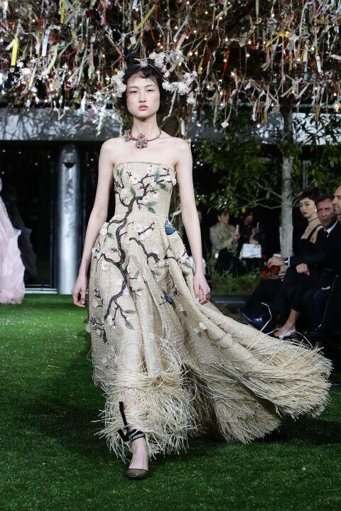 The Best Of Dior's Cherry Blossom Couture