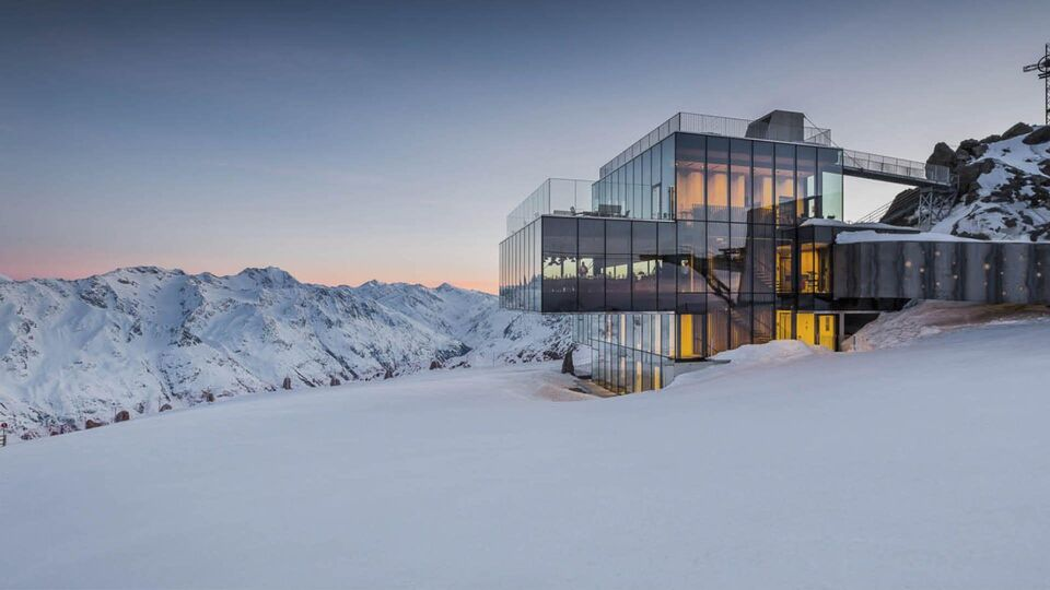 Dinner With A View: Ice Q, Austria