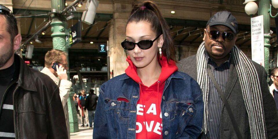 #BazaarLoves: Bella Hadid's Off-Duty Looks