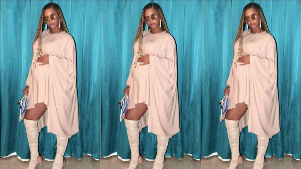 Beyoncé's Pregnancy Style Continues To Slay