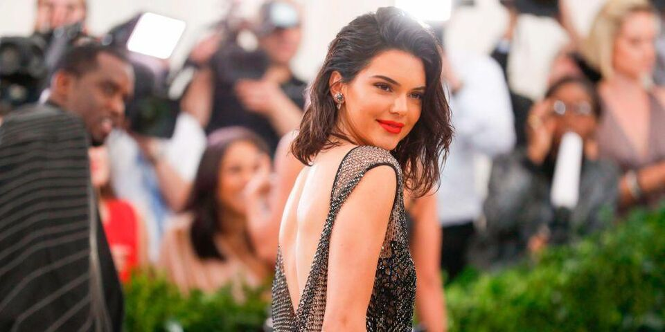 Kendall Jenner's 2017 Met Gala Dress Was Made From 85,000 Crystals