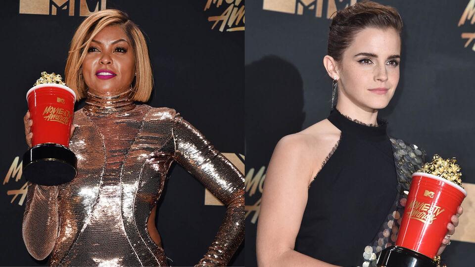 Emma Watson And Taraji P. Henson Deliver Powerful Speeches At The 2017 MTV Movie & TV Awards