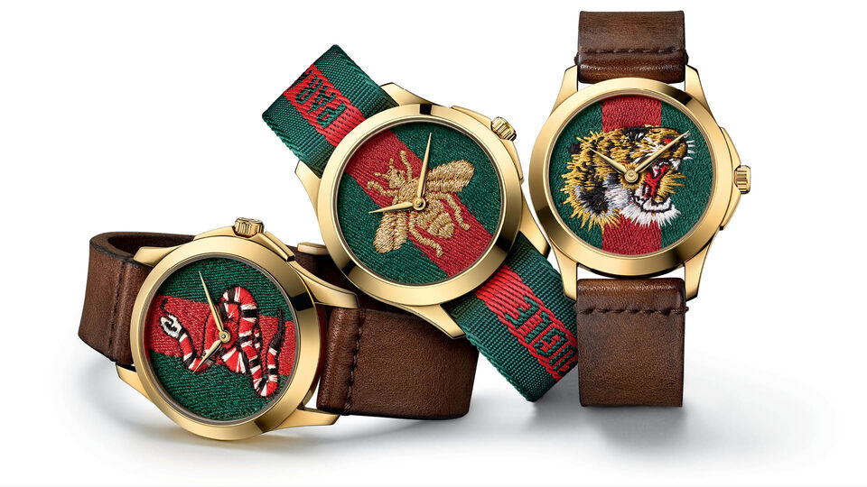 Alessandro Michele Injects Contemporary Chic To Latest Gucci Timepiece And Jewellery Collections