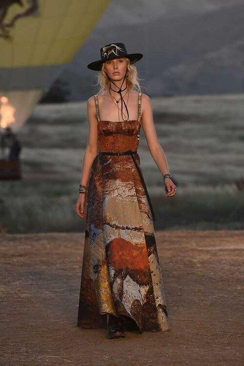 Every Must-See Look From Dior's Wild West-Inspired Resort Collection