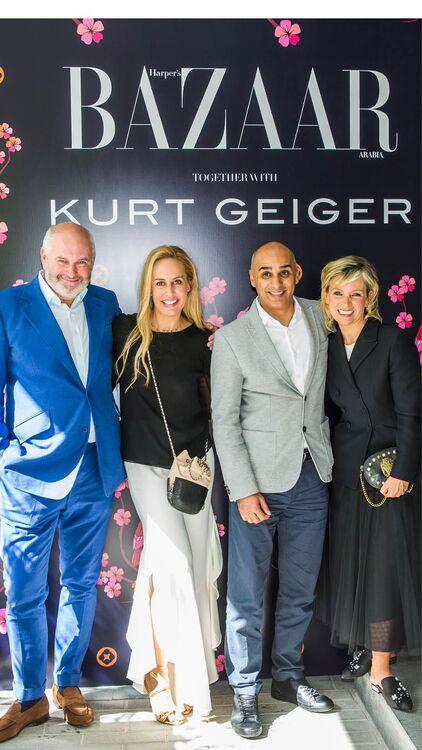 Bazaar Hosts Afternoon Tea With Kurt Geiger