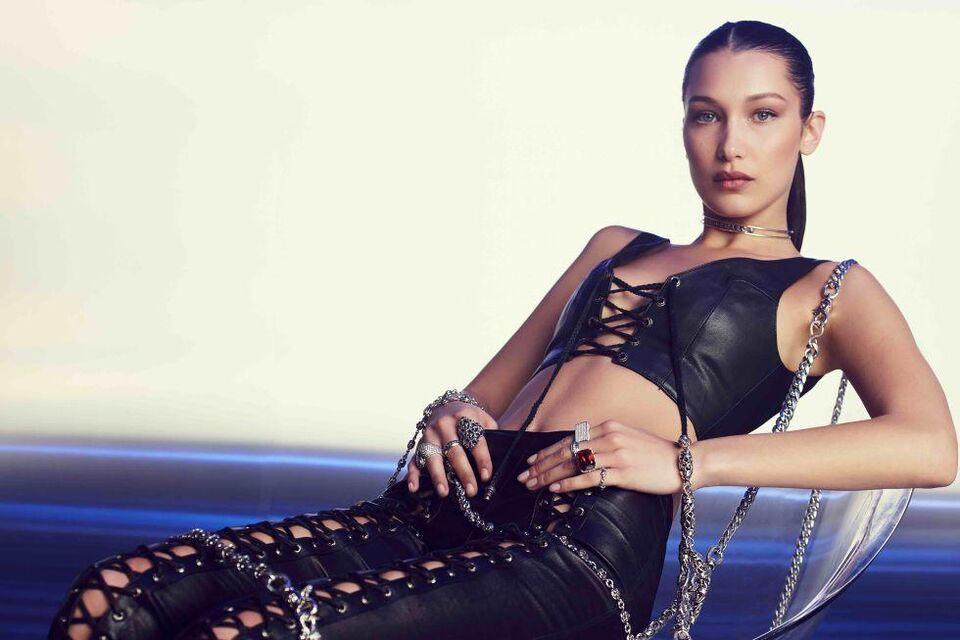 Bella Hadid's Debut Chrome Hearts Collection