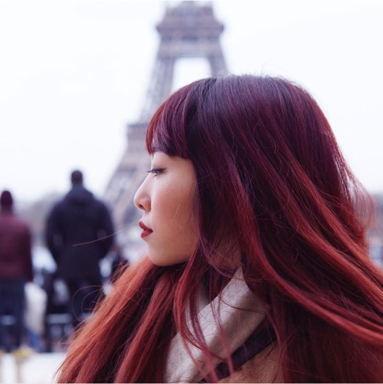 10 Pretty Takes On Burgundy Hair