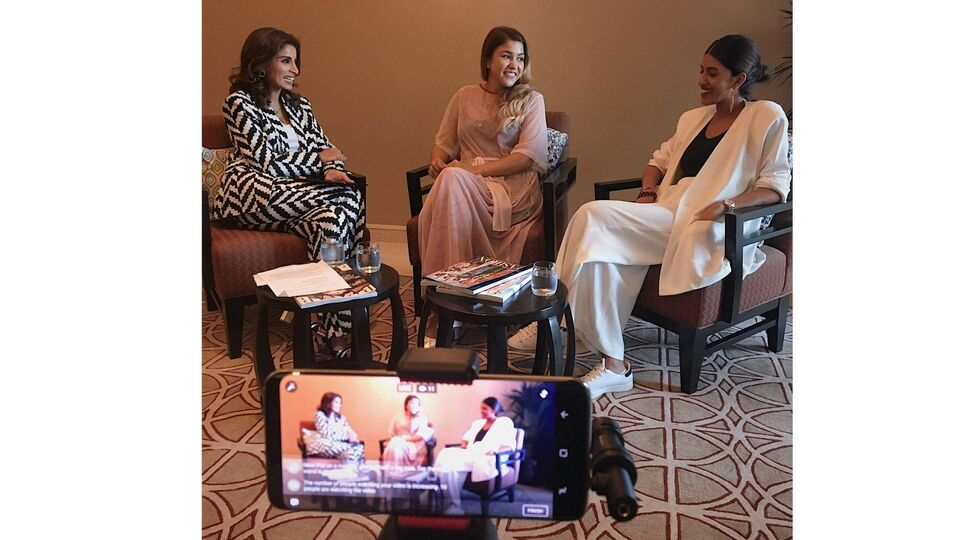 Watch Now: Bazaar In Conversation With Arwa Al Banawi And Andraya Farrag