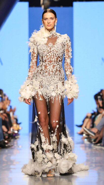 Marchesa Unveiled Their Resort Collection At Arab Fashion Week