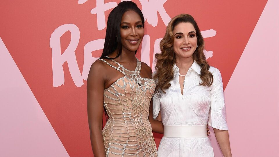 Queen Rania Joins Naomi Campbell In Cannes